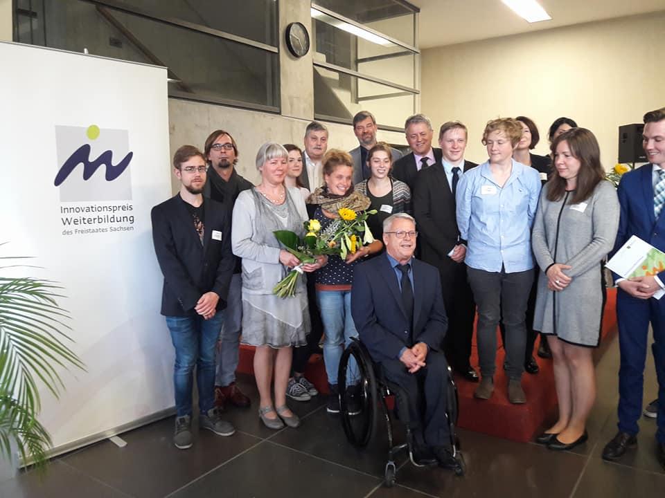 Verein wird mit Innovationspreis Weiterbildung des Land Sachsen prämiert
