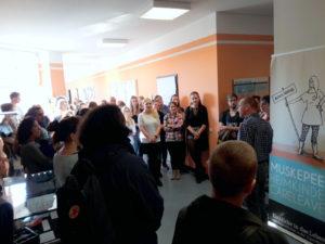 Ausstellungseröffnung an der HTWK Leipzig: